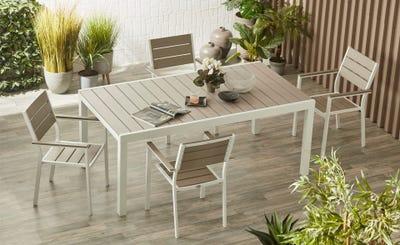 Set tavolo e sedie Perseo